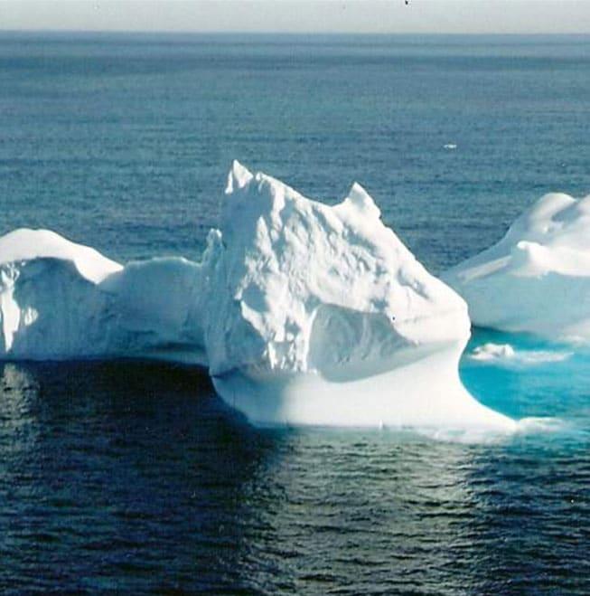 Icebergs au large de</br>la Côte du Labrador