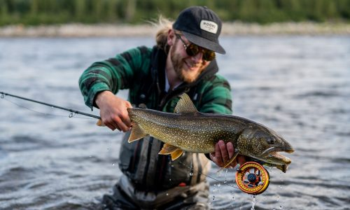 Fly Fishing for Atlantic Salmon & Trophy Brook Trout
