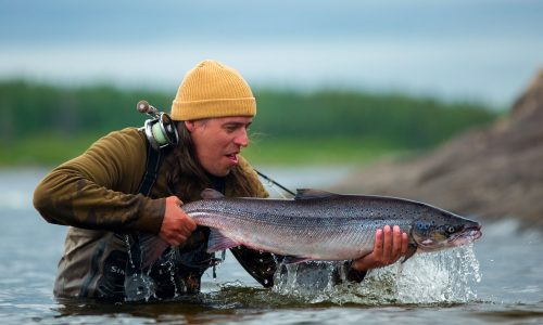 Fly fishing Quebec, Canada