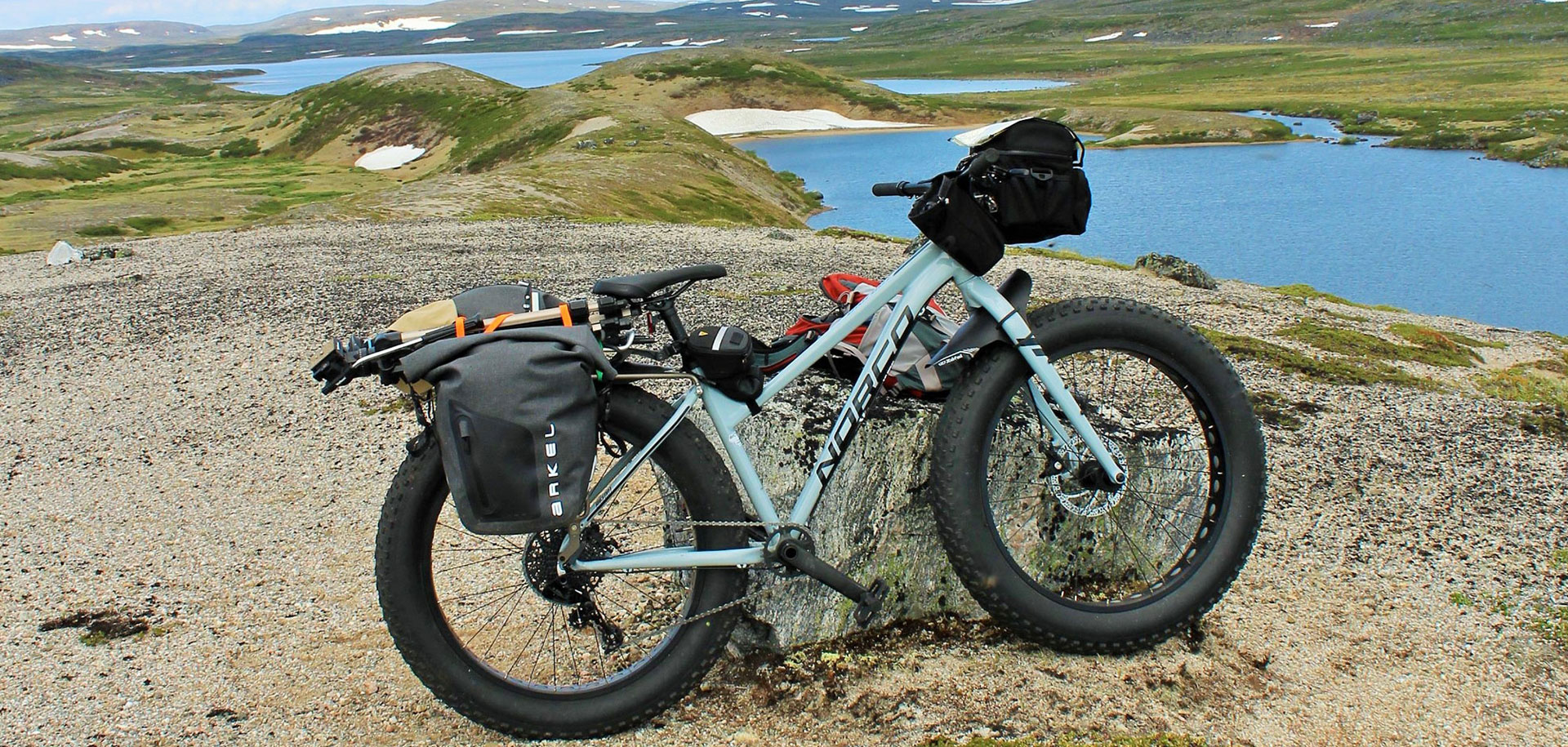 TRAVEL NOTEBOOK - Exploring the Esker Northern Divide by Fat Bike