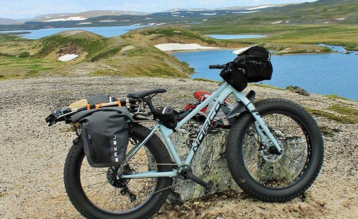 Bike excursion Quebec-Labrador, Canada