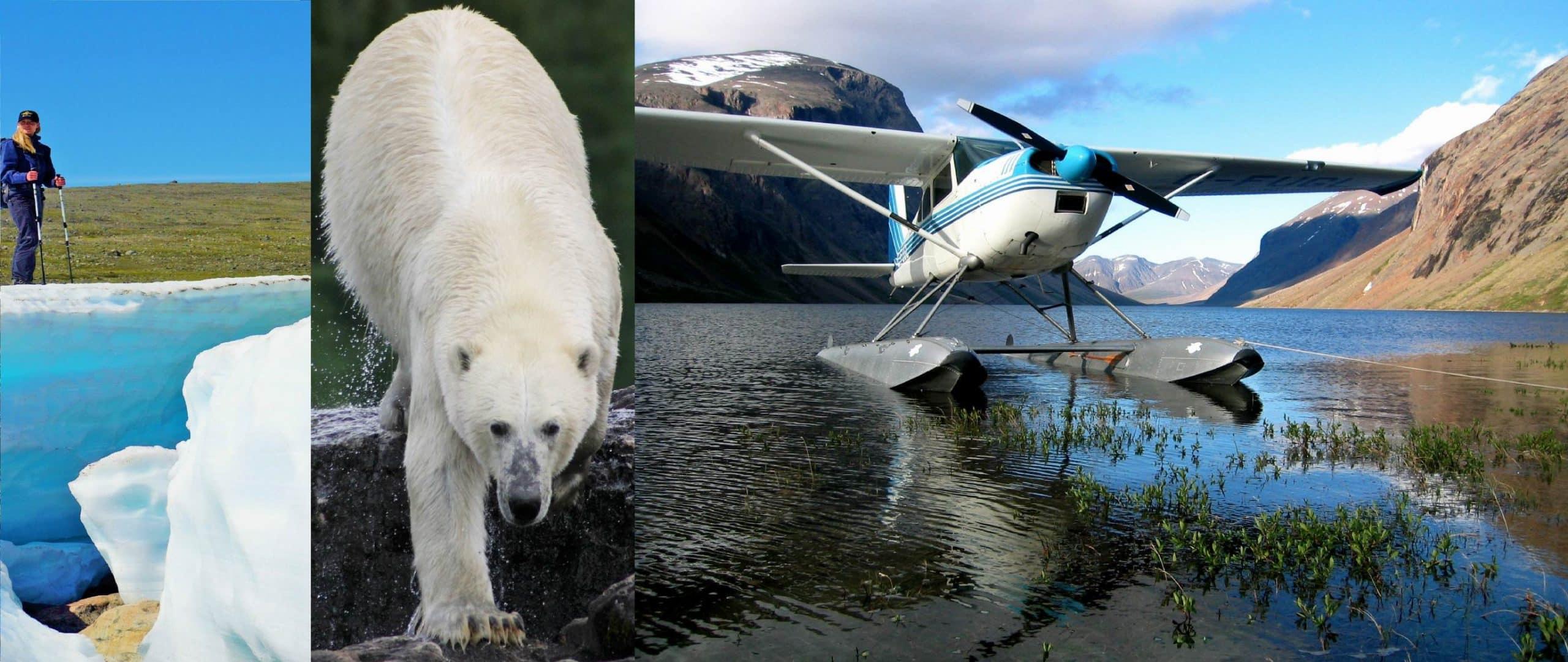 Air safari in Arctic Quebec and Labrador